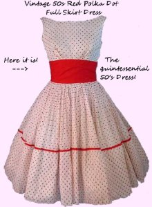 vintage-50s-red-polka-dot-full-skirt-dress